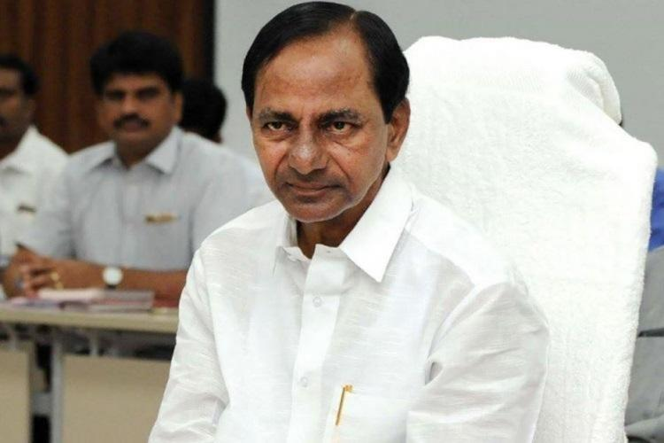 Telangana Chief Minister K Chandrasekhar Rao