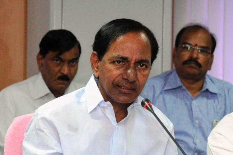 Telangana CM KCR hits back at BJP chief Amit Shah says he ate food cooked by non-Dalits