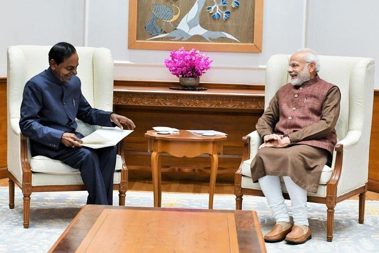 Image result for Did PM Narendra Modi respond positively to the request of KCR?