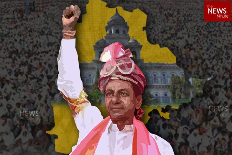 KCRs TRS to sweep Telangana Assembly elections Prajakutami decimated