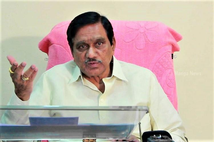 Will hang myself if TDP allies with Congress says Andhra Deputy CM