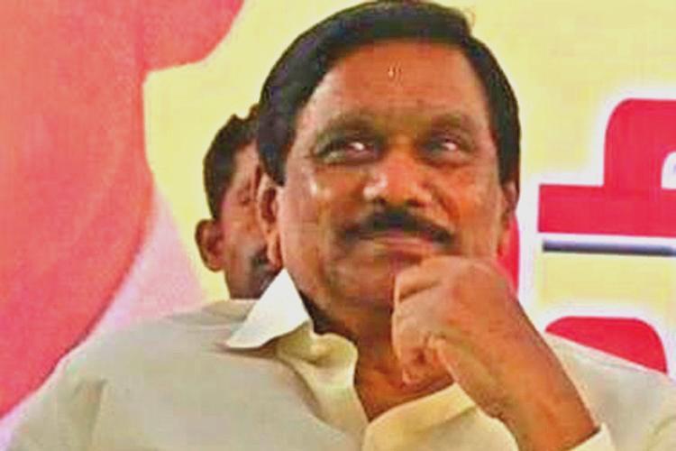 Will quit politics if BJP wins a single seat AP Dy CM Krishnamurthys challenge