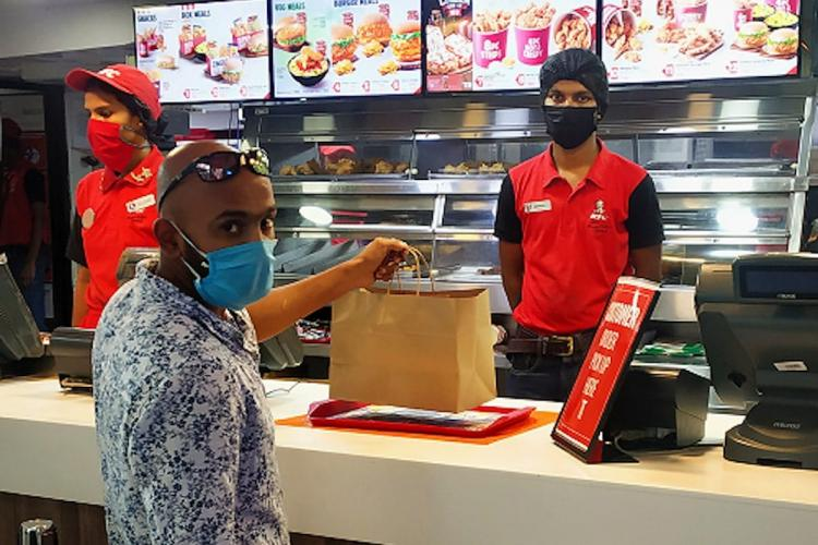 KFC India introduces contactless takeaway for customers at its restaurants