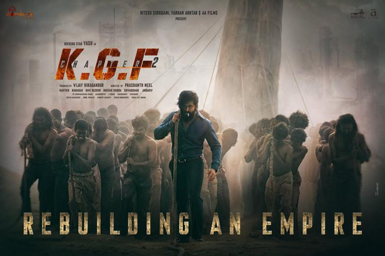 yash s kgf chapter 2 first look released the news minute kgf chapter 2 first look released