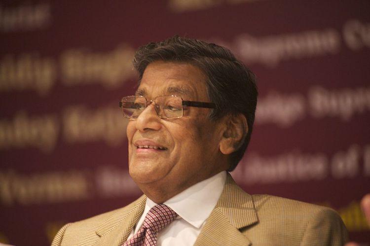 Attorney General KK Venugopal attending an event