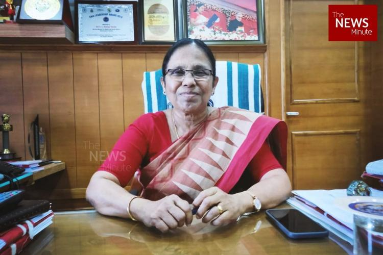 The KK Shailaja interview How Kerala flattened the COVID-19 curve