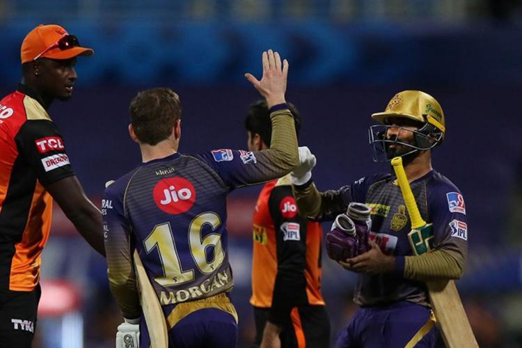 Kolkata Knight Riders versus Sunrisers Hyderabad