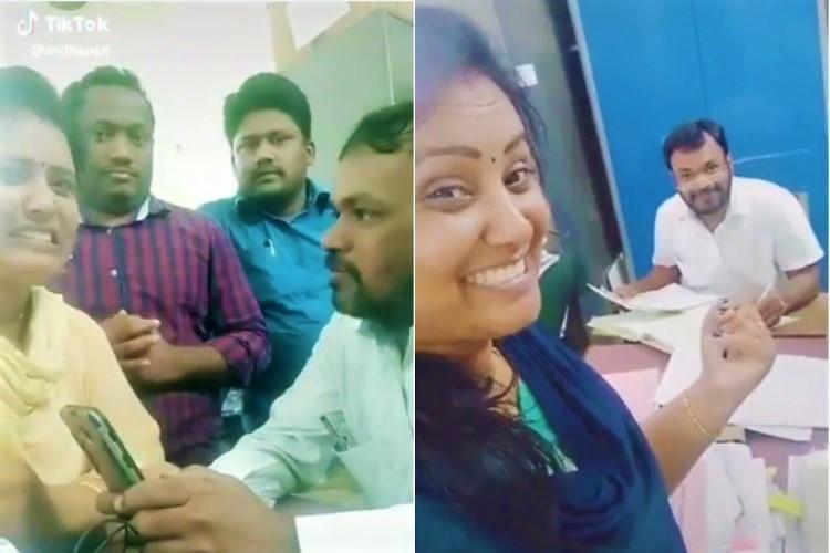 Telangana govt employees transferred after fun TikTok videos shot in office go viral