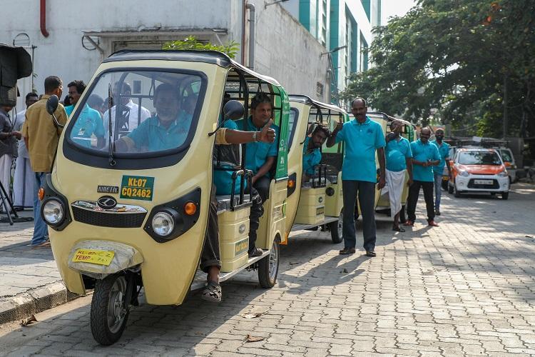 Kochi Metro introduces e-autos for last mile connectivity
