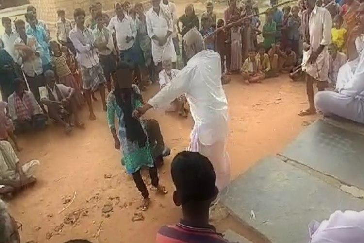 Minor Dalit girl assaulted in Andhra Police visit village assure strict action