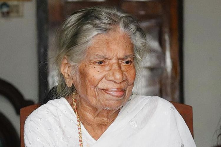 Keralas Communist leader KR Gouri who passed away on May 11