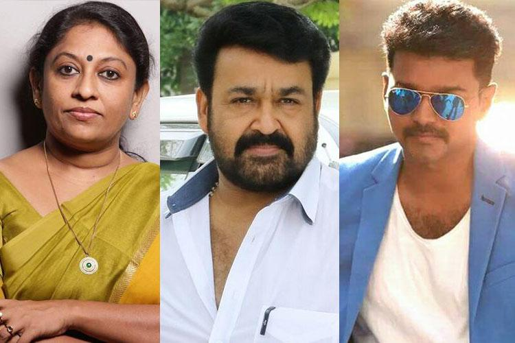 Safer to be Mohanlal than actor Vijay these days Writer KR Meera
