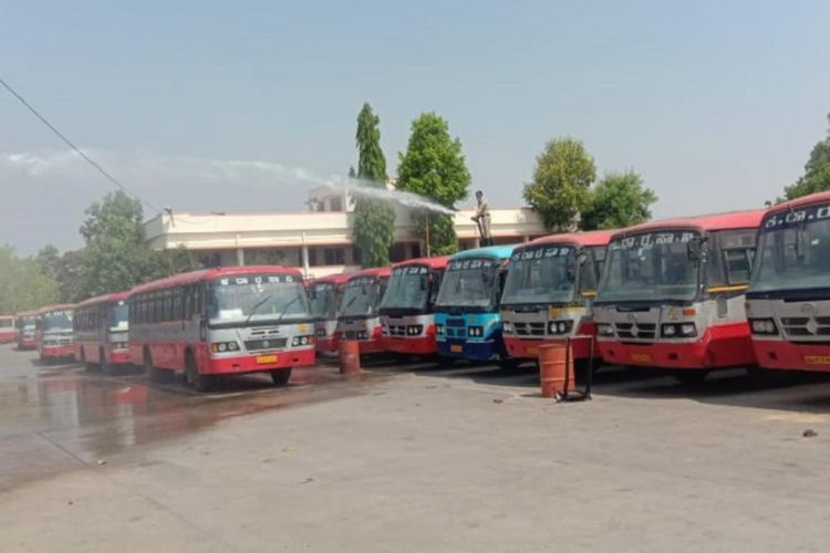 Salaries for Karantaka govt run bus corp staff have been irregular