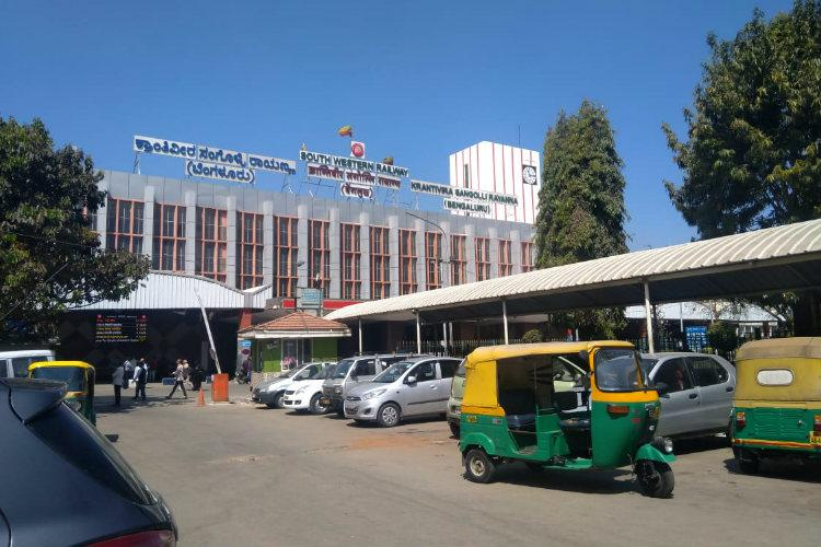 After public outcry parking fees for two-wheelers at Bengaluru KSR station halved