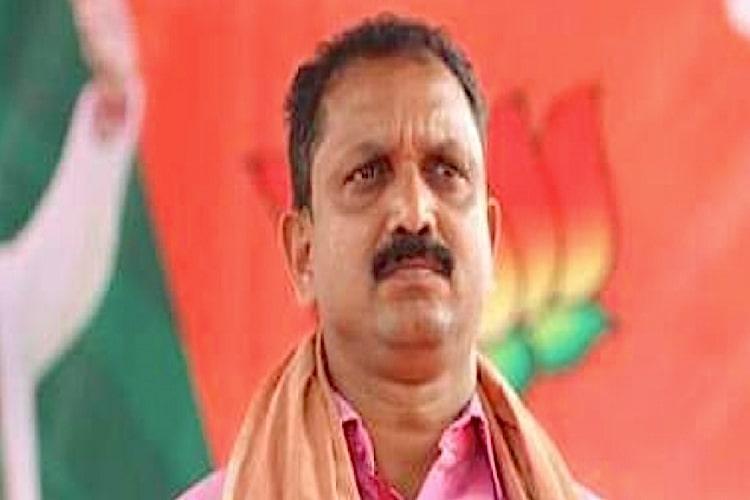 BJPs K Surendran granted bail in 2016 intimidation case in Kannur