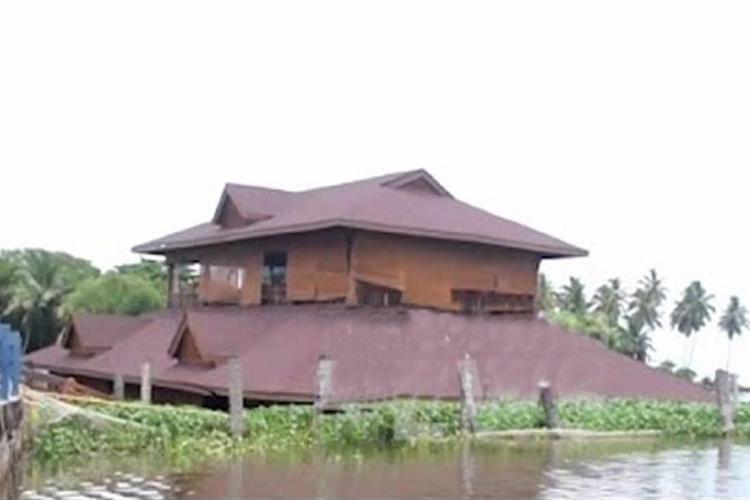 Kerala Tourisms floating restaurant submerged months after renovation worth lakhs