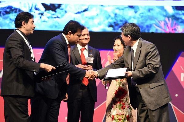 Telangana govt signs technology partnership pact with Taiwans Taoyuan city