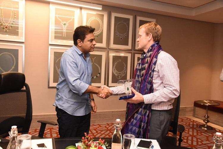 WhatsApp CEO meets KTR Minister pitches for customer service operations center in Hyd