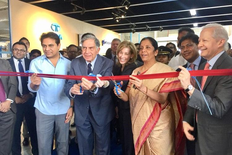 Tata Boeing open Apache helicopter fuselage facility in Hyderabad