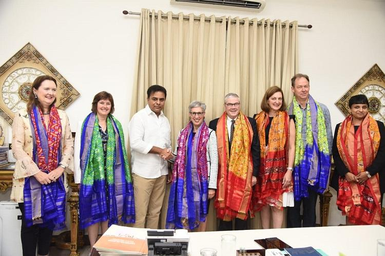 Telangana Victoria state explore collaborations in education research innovation