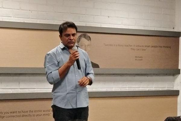 KTR bats for academia-industry partnerships to improve education in Telangana