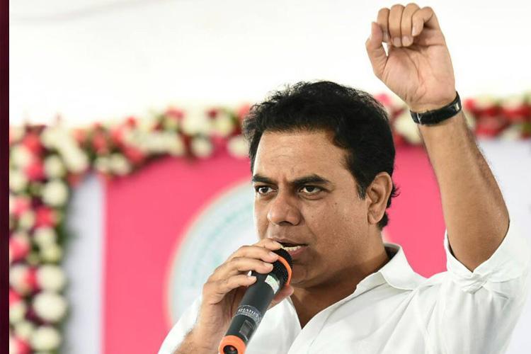 KT Rama Rao reclaims Sircilla for third time beats Congress KK Mahender Reddy
