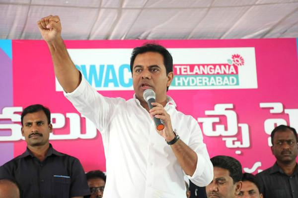 KTR asks for out of box solutions for Hyderabads roads gets dose of common sense