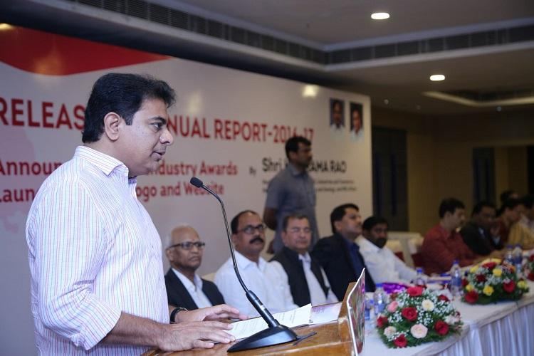Telanganas GSDP grows by 10 KTR releases annual report on industries and commerce