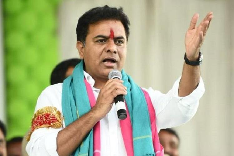 KTR takes charge as TRS Working President to handle party affairs in Telangana