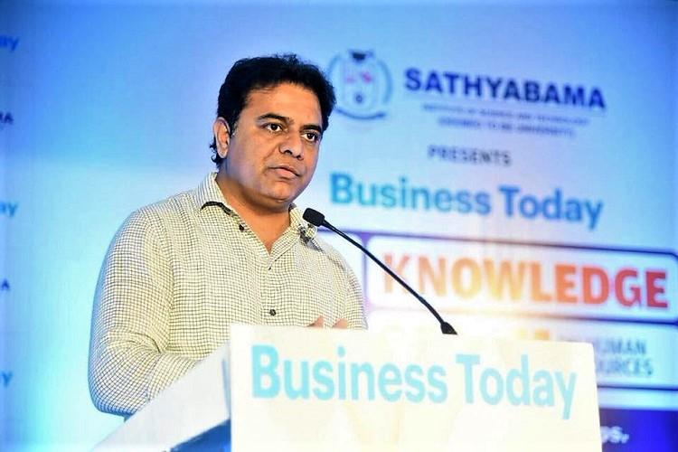 Telangana minister KTR invited to World Economic Forum meet
