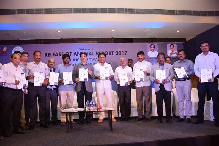 Telangana achieves IT exports of Rs 85470 crore KTR releases annual report