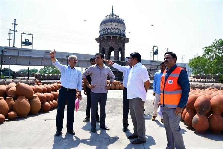 KTR visits Moazzam Jahi Market restoration to be completed in 4 months
