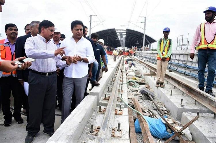 Hyd Metro to be ready by Nov 20 still awaiting PMs nod for inauguration says KTR
