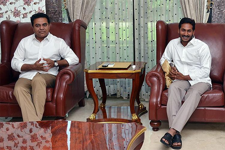 YSCRP joins TRS federal front Can KCR and Jagan play kingmaker in Delhi
