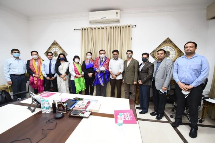 KTR meets delegation from TECC in Hyderabad