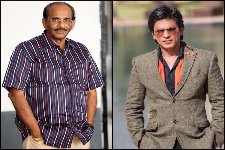 Baahubali writer K V Vijayendra Prasad denies rumours of directing a film with SRK