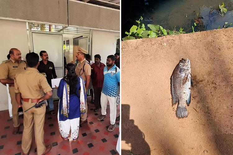 Electroplating unit in Tvm dumps chemicals in rivulet water supply restored after hours