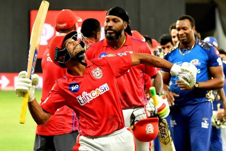 Celebrations after Punjab triumph over Mumbai Indians