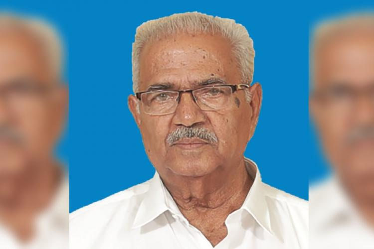 Kerala BJP leader K Raman Pillai