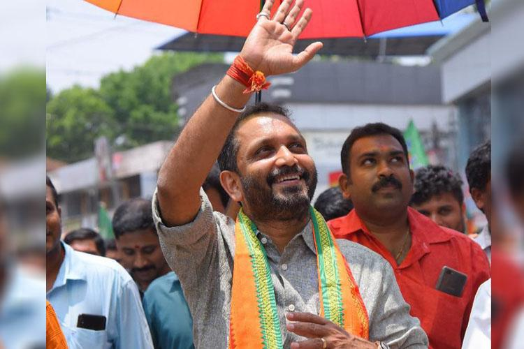 K Surendran BJPs face in Sabarimala protests appointed party chief in Kerala