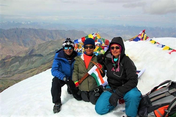 10-year-old Vizag girl conquers Himalayan peak of Mt Stok Kangri