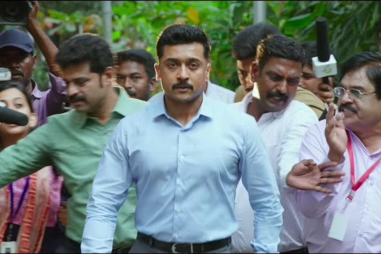 Kaappaan review Who will save the audience from Kollywoods farmer obsession