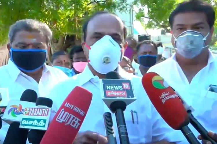TN Minister says Sathankulam custodial deaths not lock-up deaths