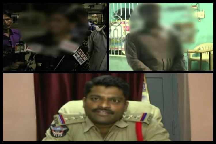 Andhra policemen allegedly thrash minor couple to knock some sense into them