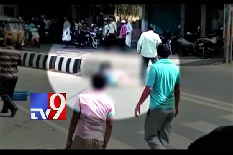 Andhra man hacked to death in broad daylight onlookers capture video on phone