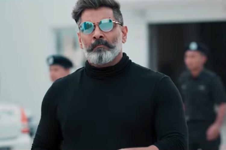 Watch Vikram plays mysterious double agent in Kadaram Kondan teaser