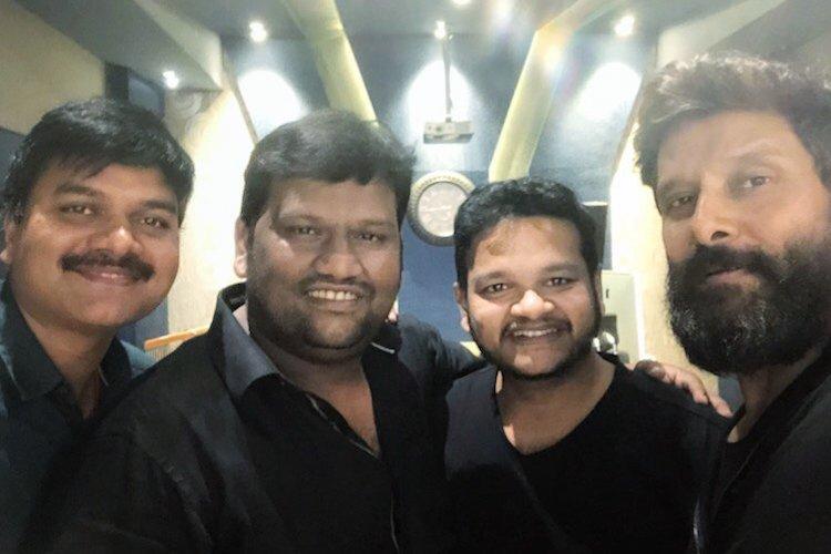 Vikram to sing in his upcoming film Kadaram Kondan