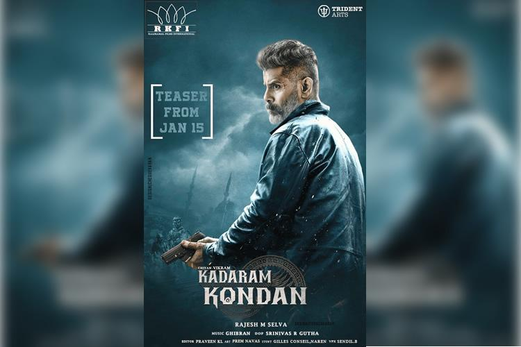 Kadaram Kondan review Vikrams swag somewhat saves a dispassionate film