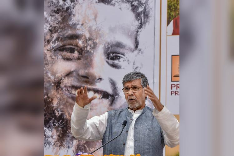Kailash Satyarthi urges global action against online child sexual abuse pornography