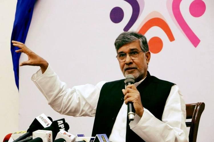 Delhi police recover Kailash Satyarthis Nobel Prize replica three arrested